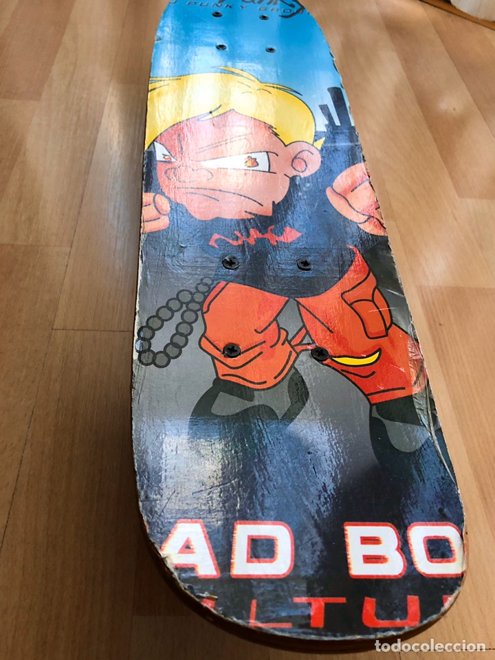 Segunda Mano: Monopatín de u-pinky group skateboards. Modelo Bad boy - Foto 2 - 186078952