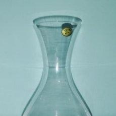 Segunda Mano: DECANTADOR VINO CRISTAL DE BOHEMIA. Lote 186114616