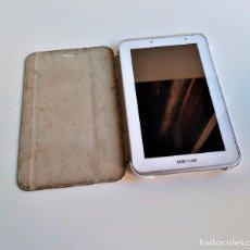 Segunda Mano: SAMSUNG TABLET DE 7 PULGADAS 8 GB + FUNDA PROTECTORA. Lote 186162367