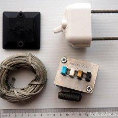 Segunda Mano: LOTE DE 4 COMPONENTES ELECTRÓNICOS ANTIGUOS. Lote 186208382