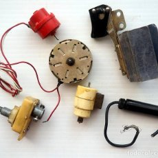 Segunda Mano: LOTE DE 6 COMPONENTES ELECTRÓNICOS ANTIGUOS. Lote 186208782