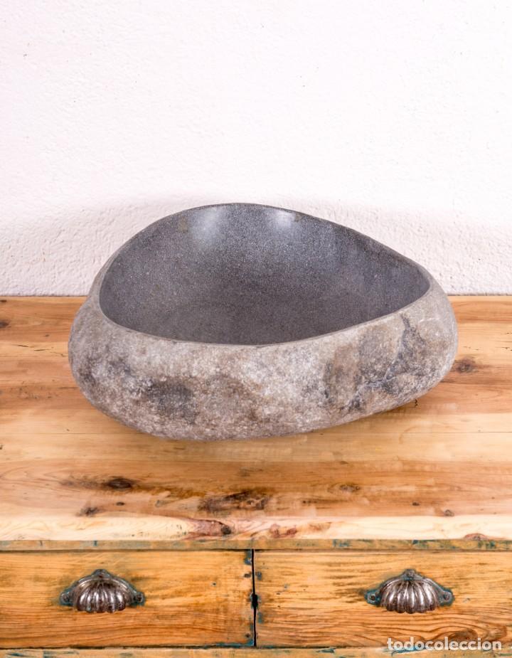 Segunda Mano: Lavabo De Piedra De Río - Foto 4 - 187577696