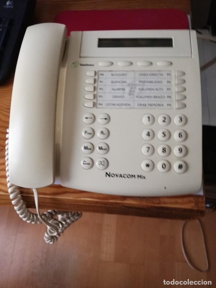 TERMINAL RDSI TELEFÓNICA NOVACOM MIX GUARDADO AÑOS. MUY BUEN ESTADO (Segunda Mano - Artículos de electrónica)