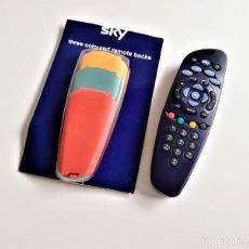 Segunda Mano: SKY TV DIGITAL CONTROL REMOTO + 3 CARCASAS DE RECAMBIO. Lote 189564223