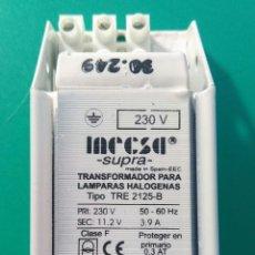 Segunda Mano: 7 TRANSFORMADORES 230V. A 11,2V. 50 HZ. TOMA TIERRA.. Lote 189743846