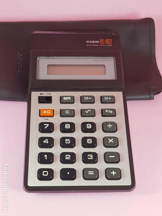 Segunda Mano: calculadora-casio HL-802-PILAS-FUNCIONANDO-VER FOTOS - Foto 5 - 189991500