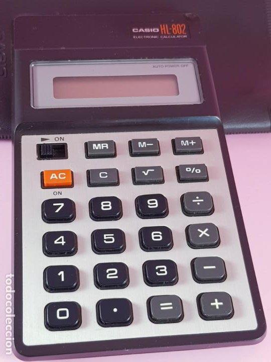 Segunda Mano: calculadora-casio HL-802-PILAS-FUNCIONANDO-VER FOTOS - Foto 6 - 189991500