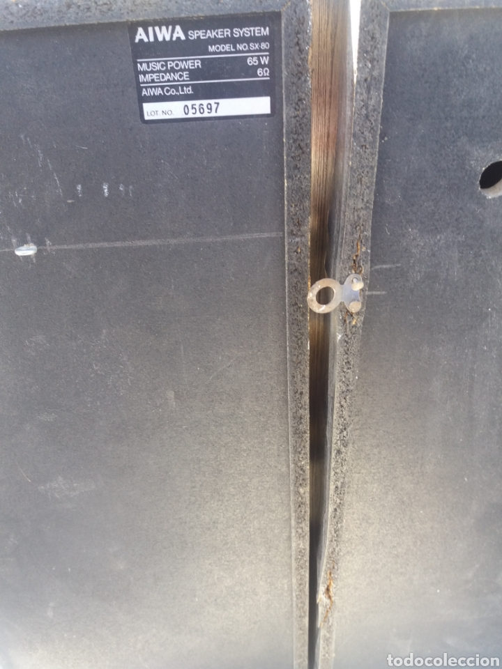Segunda Mano: ALTAVOCES AIWA SX-80 - Foto 2 - 190066531