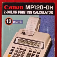 Segunda Mano: CALCULADORA CANON MP 120. Lote 190222261