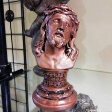Segunda Mano: CRISTO DE LIMPIAS DE 20 CM EN ESCAYOLA. Lote 190336860