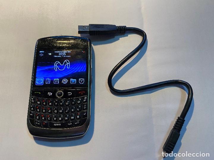 Segunda Mano: BLACKBERRY CURVE 8900 CON CABLE USB ORIGINAL, CONEXION/ALIMENTACION - Foto 2 - 190592261