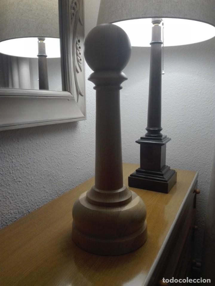 Segunda Mano: Peón de madera gran tamaño - Foto 4 - 190594002