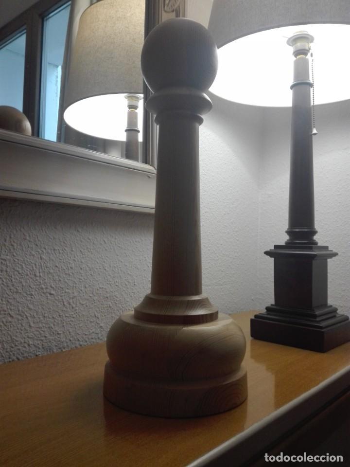 Segunda Mano: Peón de madera gran tamaño - Foto 6 - 190594002
