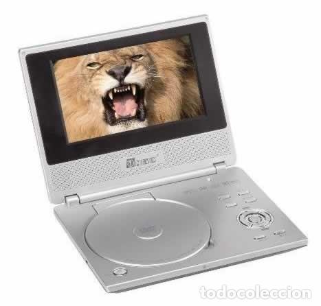 REPRODUCTOR DE DVD PORTÁTIL Y TELE NEVIR NVR-2740 DVD-PDTX, CON TDT HD - VINTAGE - COLECCIÓN (Segunda Mano - Artículos de electrónica)