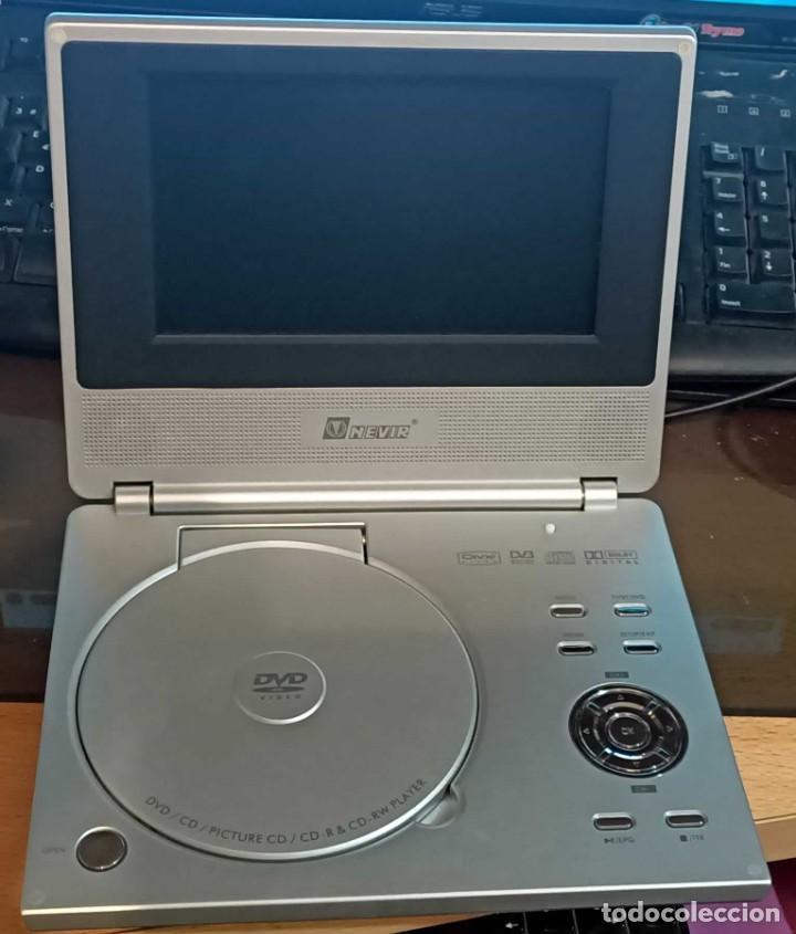 Segunda Mano: Reproductor de DVD portátil y Tele Nevir NVR-2740 DVD-PDTX, CON TDT HD - VINTAGE - Colección - Foto 2 - 190875071
