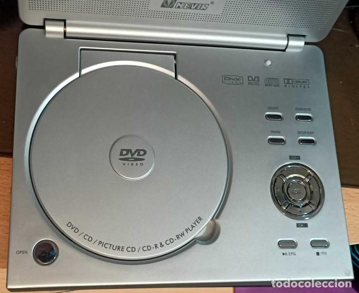 Segunda Mano: Reproductor de DVD portátil y Tele Nevir NVR-2740 DVD-PDTX, CON TDT HD - VINTAGE - Colección - Foto 3 - 190875071