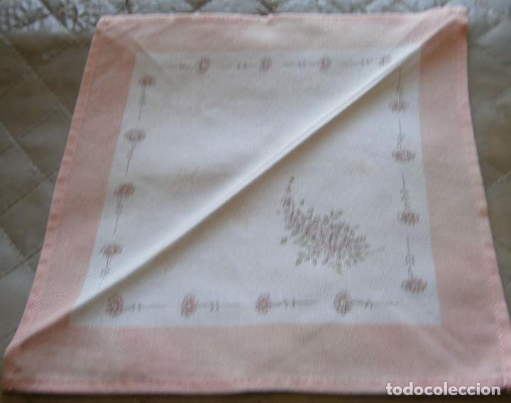 Segunda Mano: seis servilletas de postre 22 cms x 22 cms - Foto 2 - 190879125