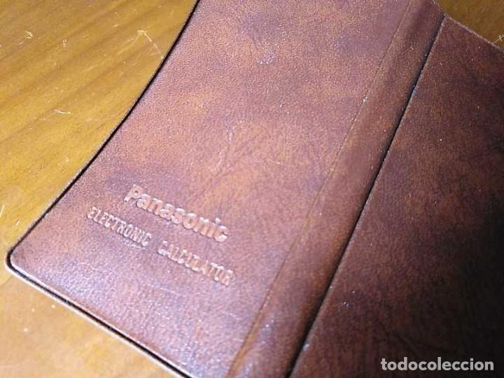 Segunda Mano: ANTIGUA CALCULADORA PANASONIC 1430 MODEL JE-1430U FUNCIONANDO - ELECTRONIC CALCULATOR MADE IN JAPAN - Foto 23 - 192642696