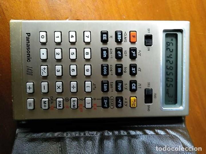 Segunda Mano: ANTIGUA CALCULADORA PANASONIC 1430 MODEL JE-1430U FUNCIONANDO - ELECTRONIC CALCULATOR MADE IN JAPAN - Foto 26 - 192642696