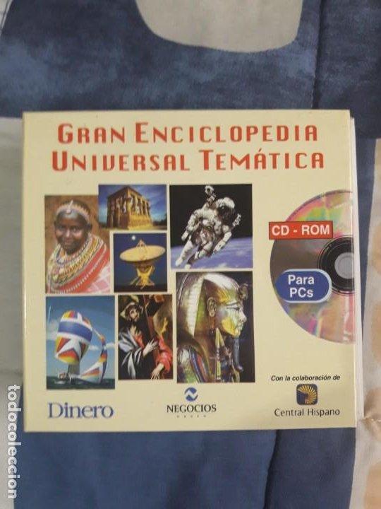 ENCICLOPEDIA MULTIMEDIA GRAN ENCICLOPEDIA UNIVERSAL TEMÁTICA, ED. HELICON 52, AÑO 1997 (Segunda Mano - Otros)