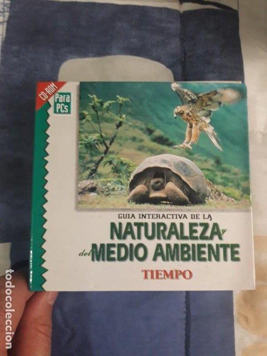 ENCICLOPEDIA MULTIMEDIA GUIA INTERACTIVA, NATURALEZA Y DEL MEDIO AMBIENTE 6 CD + CAJA (Segunda Mano - Otros)