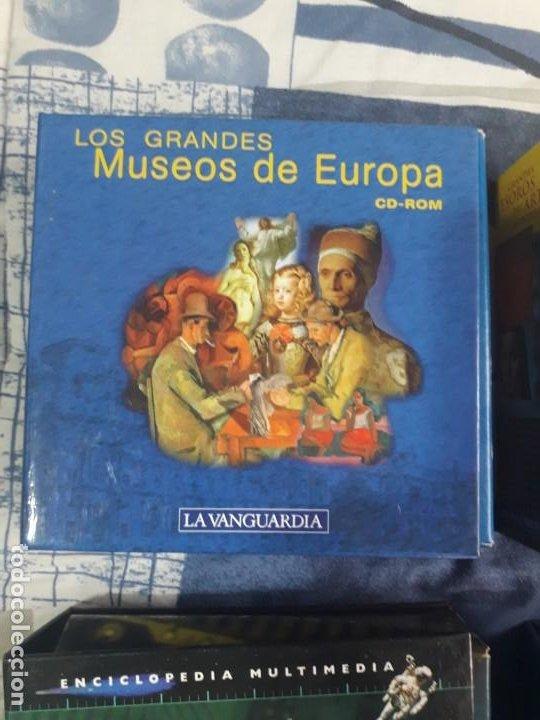 ENCICLOPEDIA MULTIMEDIA LOS GRANDES MUSEOS DE UROPA 14 CD (Segunda Mano - Otros)