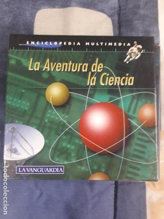 ENCICLOPEDIA MULTIMEDIA --- LA AVENTURA DE LA CIENCIA 12 CD'S (Segunda Mano - Otros)