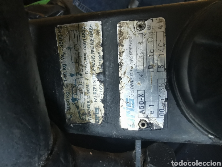 Segunda Mano: Bola de remolque mercedes. Oris D96/4.para 3500 kilos - Foto 2 - 194188030