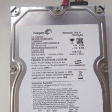 Segunda Mano: DISCO DURO SEAGATE 500 GB 3.5 SATA. Lote 194270126