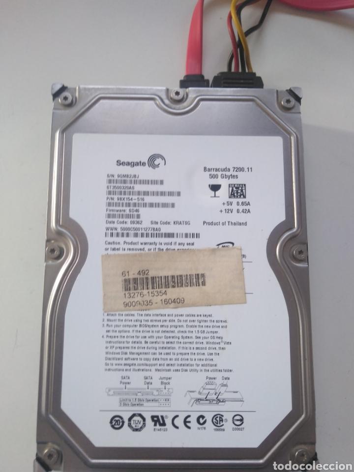 Segunda Mano: Disco duro Seagate 500 GB 3.5 SATA - Foto 4 - 194270452