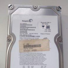 Segunda Mano: DISCO DURO SEAGATE 500 GB 3.5 SATA. Lote 194270452
