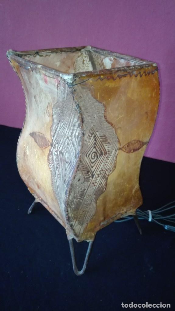 LAMPARA PIEL (Segunda Mano - Hogar y decoración)