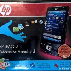 Segunda Mano: HP IPAQ 214 ENTERPRISE HANDHELD ESPAÑOL OS-SERIOS (FB043AT#ABE) 2007 A ESTRENAR PERFECTO ESTADO . Lote 194605115