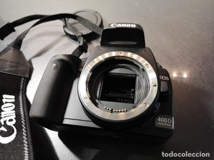 Segunda Mano: cámara Canon Eos 400d digital - Foto 2 - 194674621