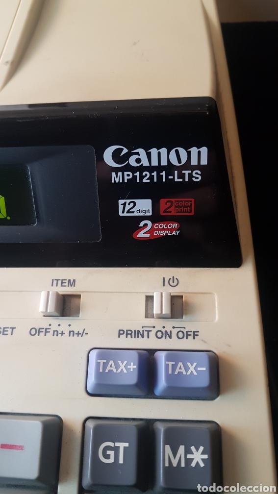 Segunda Mano: Calculadora canon mp 1211 lts..12 digitos..2 color print..2 color display - Foto 3 - 194733247