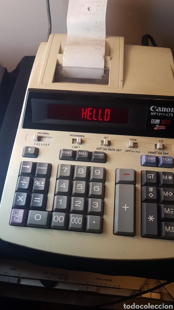 CALCULADORA CANON MP 1211 LTS..12 DIGITOS..2 COLOR PRINT..2 COLOR DISPLAY (Segunda Mano - Artículos de electrónica)