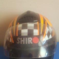 Segunda Mano: CASCO DE MOTO SHIRO. Lote 195005215