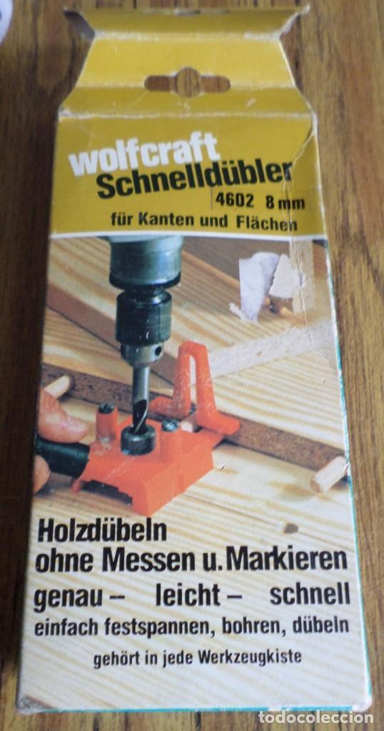 Segunda Mano: Para hacer agujeros para espigar tablas -- De 8 mm - Foto 4 - 195331090