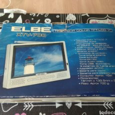 Segunda Mano: TELEVISOR PORTÁTIL ELBE 7 PULGADAS XTV-700 TFT-LCD COLOR. Lote 195488867