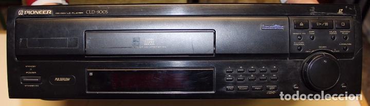 REPRODUCTOR LASERDISC PIONEER CD CDV LD PLAYER CLD-900S (Segunda Mano - Artículos de electrónica)