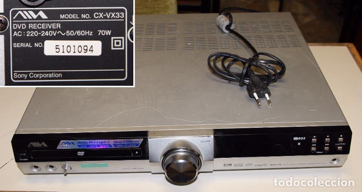 REPRODUCTOR/RECEPTOR DVD RECEIVER AIWA CX-VX33 (SONY CORPORATION) (Segunda Mano - Artículos de electrónica)