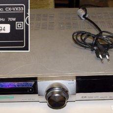 Segunda Mano: REPRODUCTOR/RECEPTOR DVD RECEIVER AIWA CX-VX33 (SONY CORPORATION). Lote 195947603