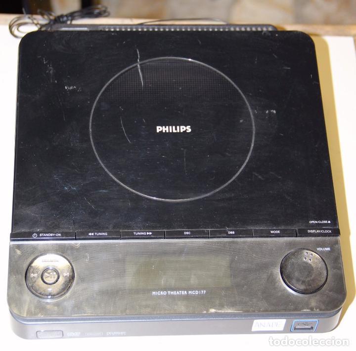 REPRODUCTOR DVD PHILIPS MICRO THEATER MCD177/12 (Segunda Mano - Artículos de electrónica)