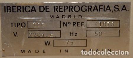 Segunda Mano: Plastificadora 10cm RUCOPLAST IDC IBÉRICA DE REPROGRAFÍA - Foto 2 - 195947673