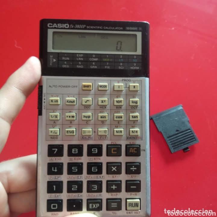 Segunda Mano: Calculadora Casio FX 3800P - Foto 5 - 223039570