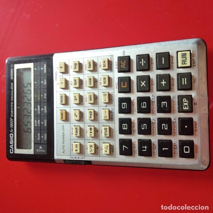 Segunda Mano: Calculadora Casio FX 3800P - Foto 6 - 223039570
