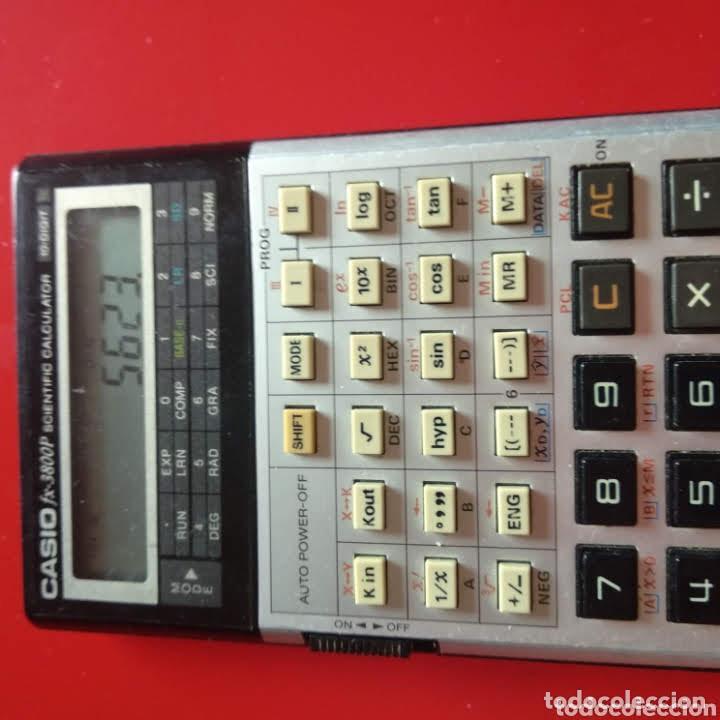 Segunda Mano: Calculadora Casio FX 3800P - Foto 7 - 223039570