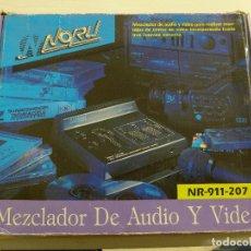 D'Occasion: MEZCLADOR DE AUDIO Y VIDEO NORU NR-911-207. Lote 196374528