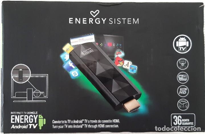 ANDROID TV ENERGY SISTEM. INTERNET TV DONGLE (Segunda Mano - Artículos de electrónica)