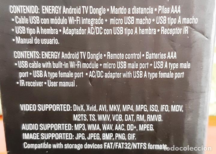 Segunda Mano: ANDROID TV ENERGY SISTEM. INTERNET TV DONGLE - Foto 2 - 196772240